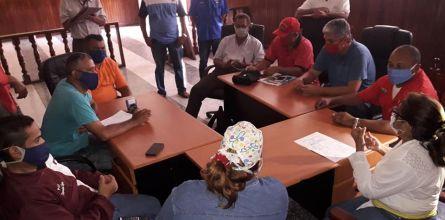 Municipalidad realizó reunión con el sector transporte